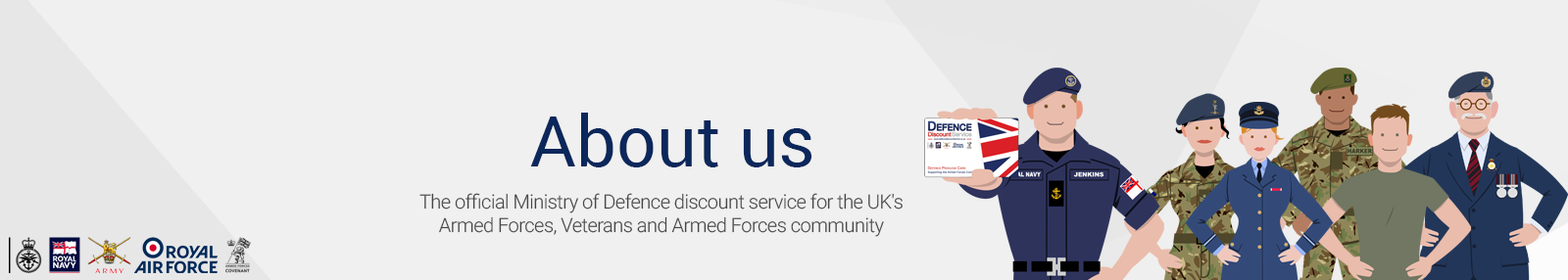 About the Official Defence Discount Service