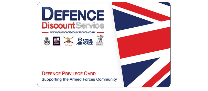Add your business to the Defence Discount Service home of the Defence Privilege Card