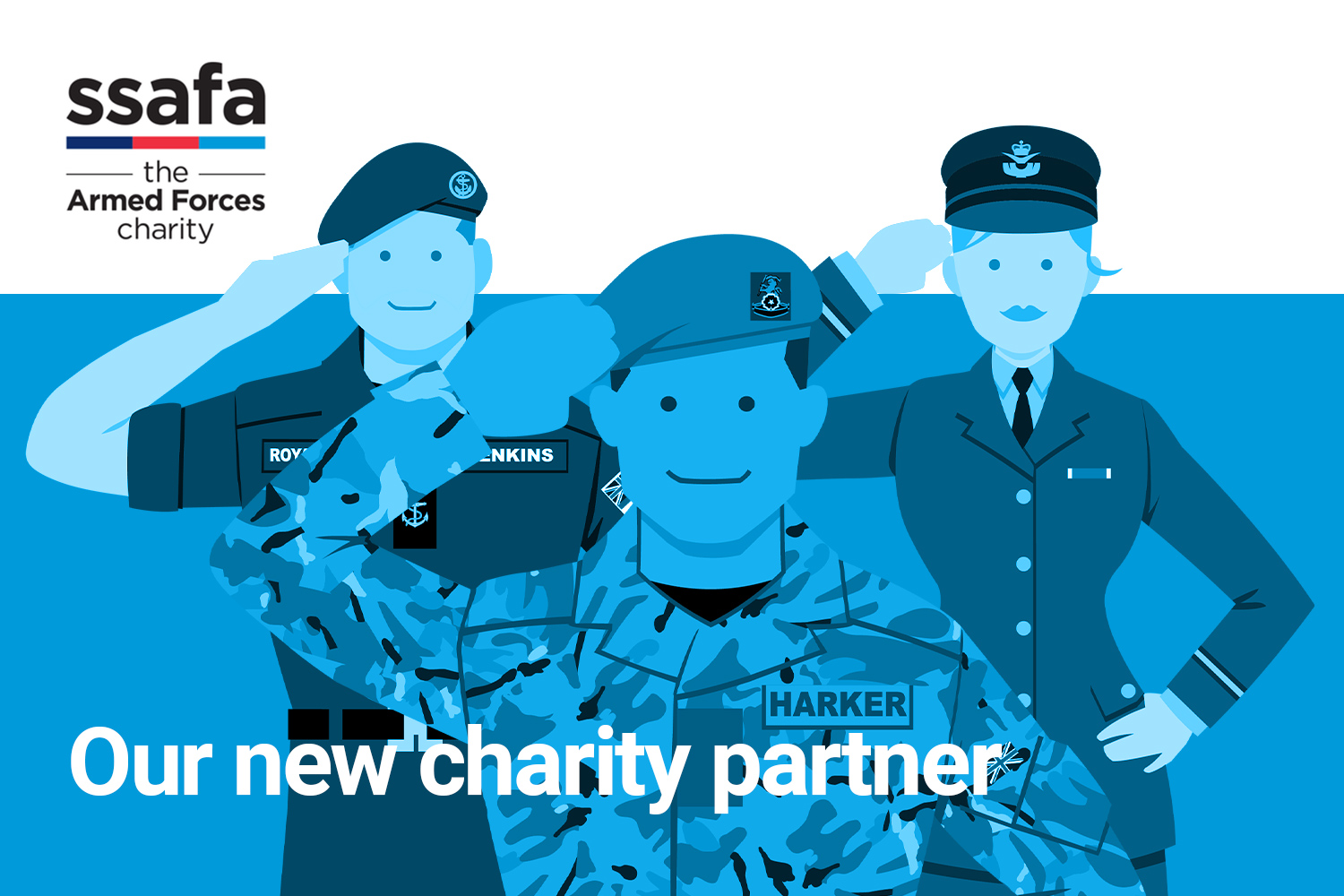 We're showing our support for Armed Forces Day >