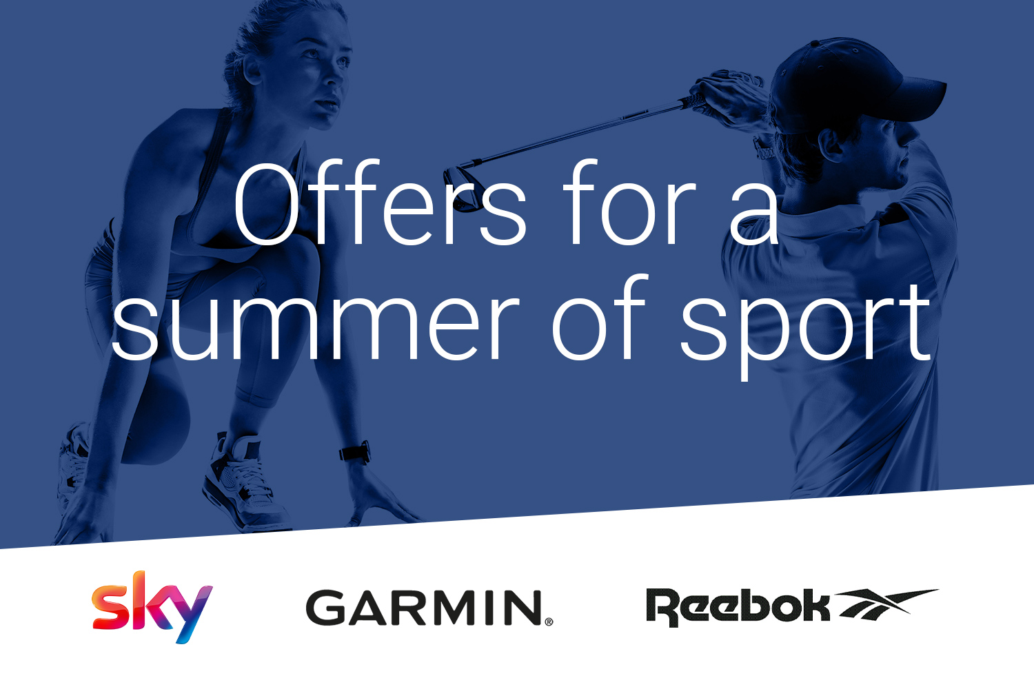 Save up to 40% on sporting discounts