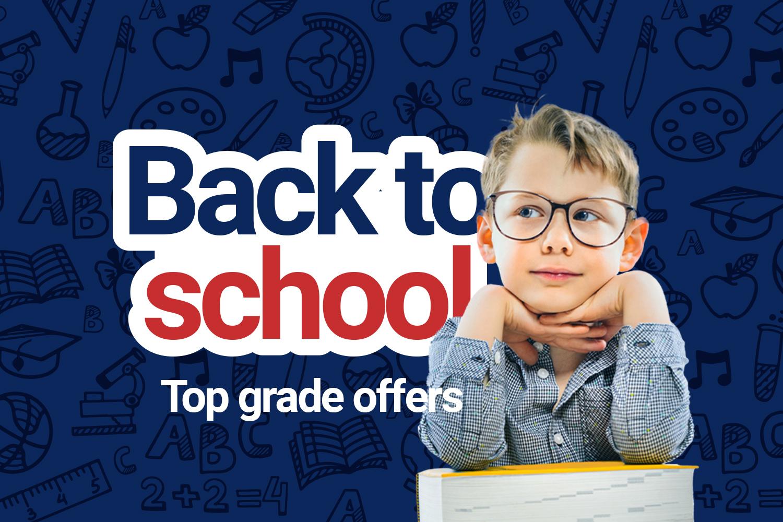 Save on school essentials>