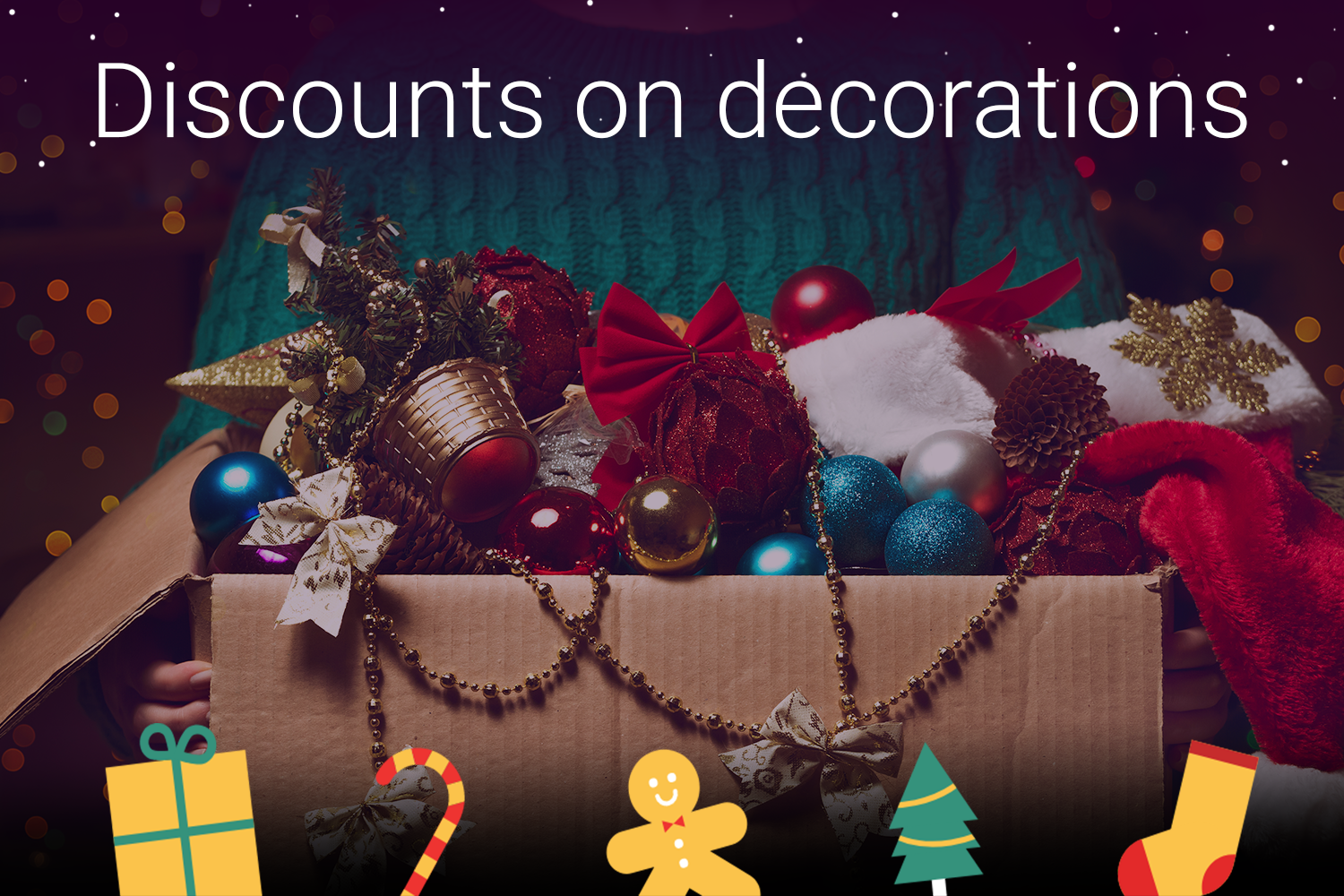 Deck the halls with decoration discounts