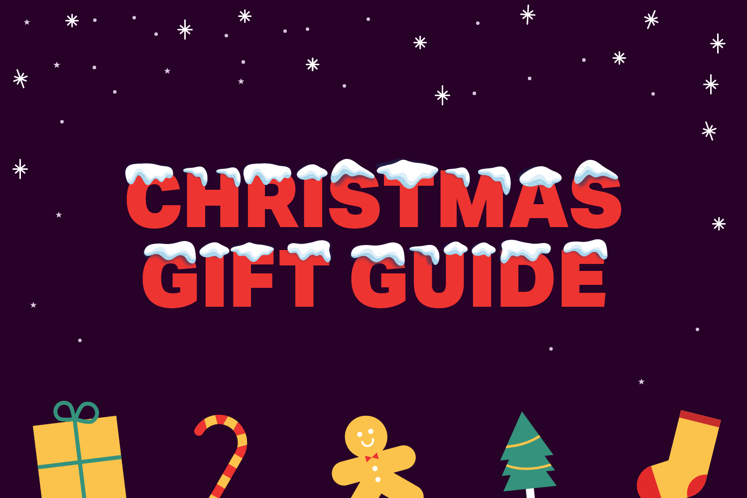 Your Christmas gift guide is here!