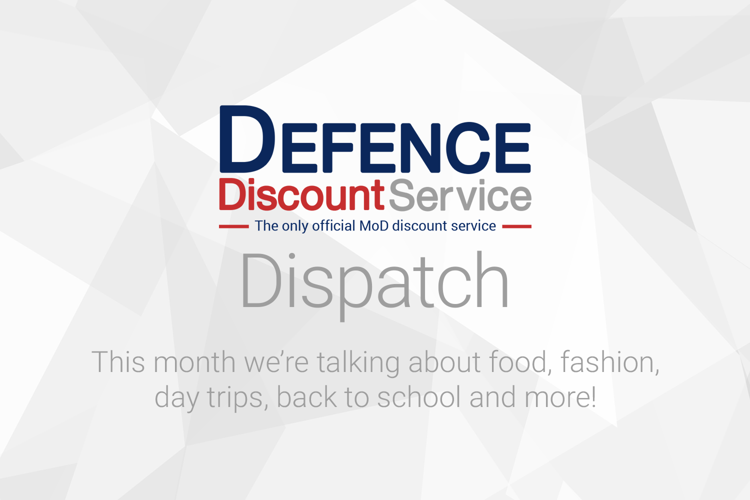 Dispatch - Summer savings that support the economy