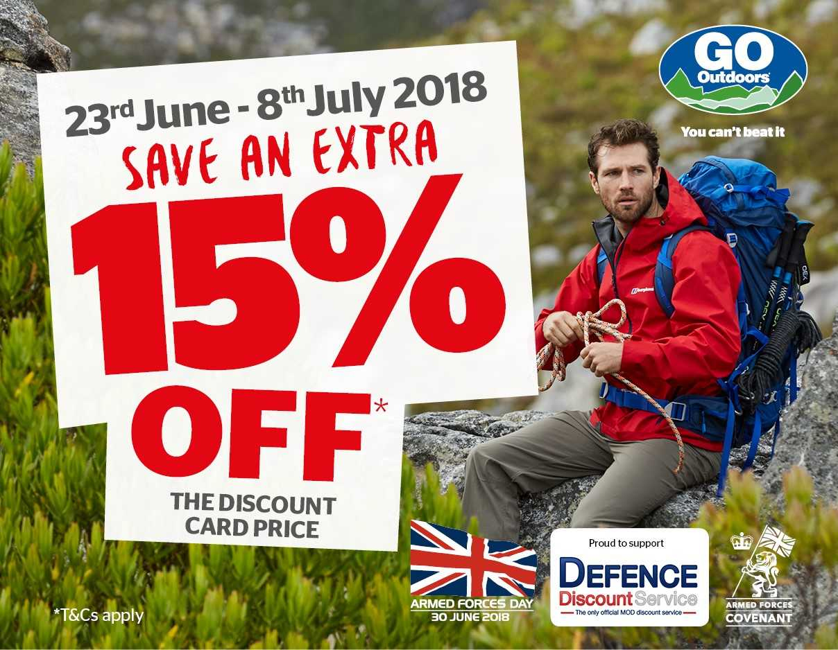 GO Outdoors Increased Offer for a Limited Time Only