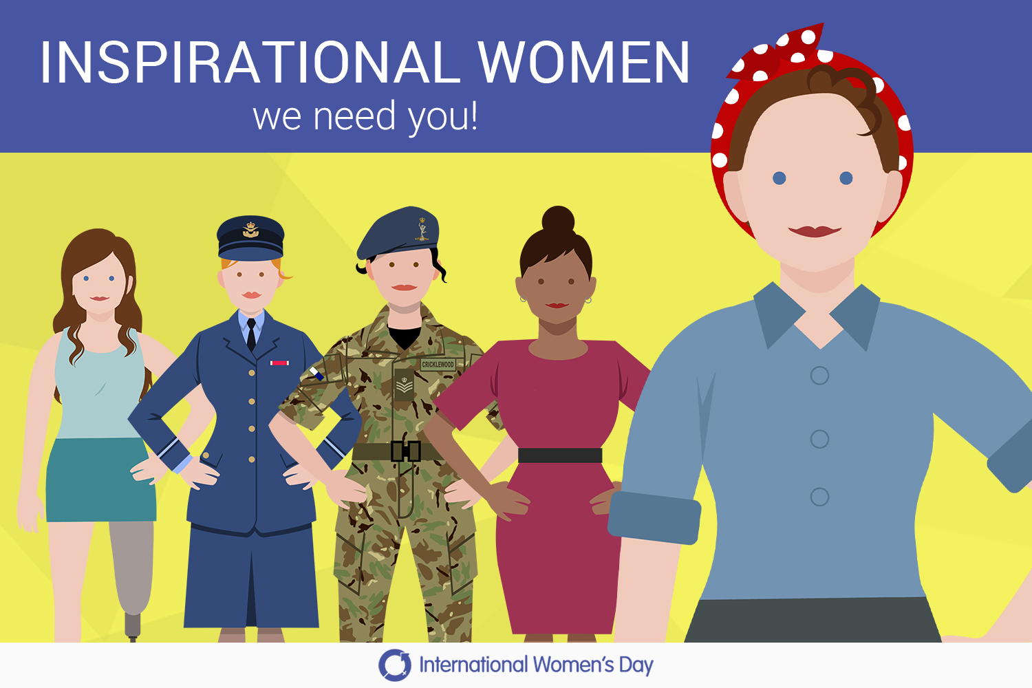 We're inviting you to nominate Inspirational Women in Defence