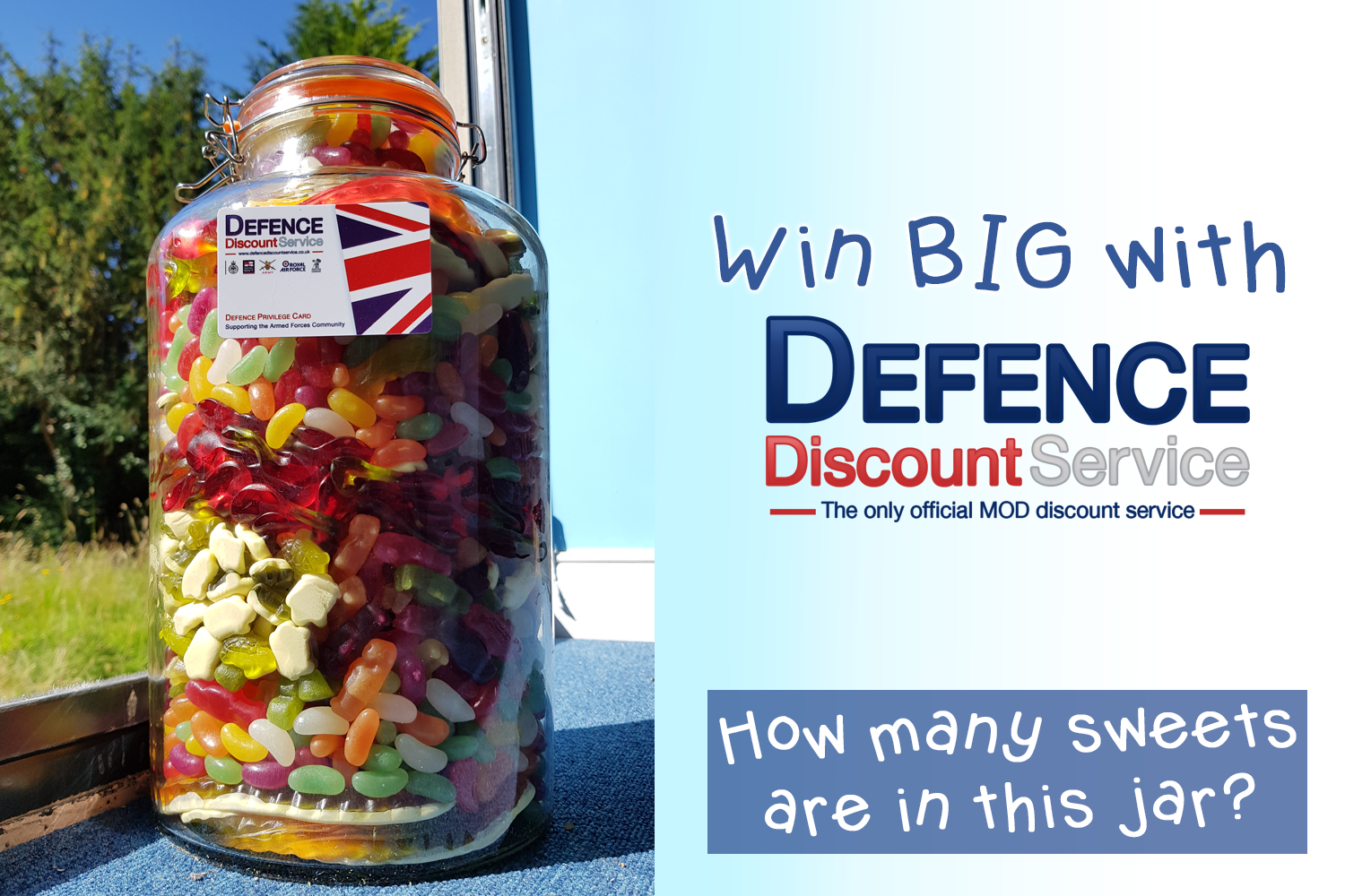 To celebrate Armed Forces Day we've got another 'Win BIG with DDS' prize to be won!