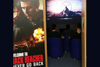 In base cinema screening a success...